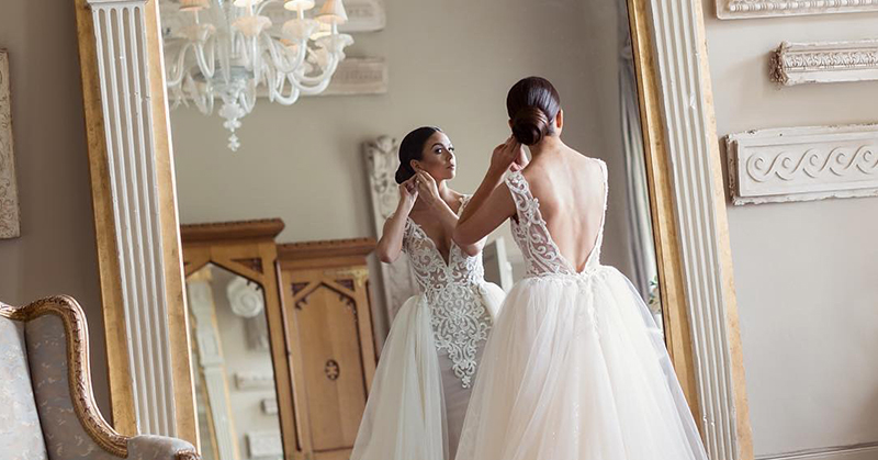 Evening dresses and wedding shops