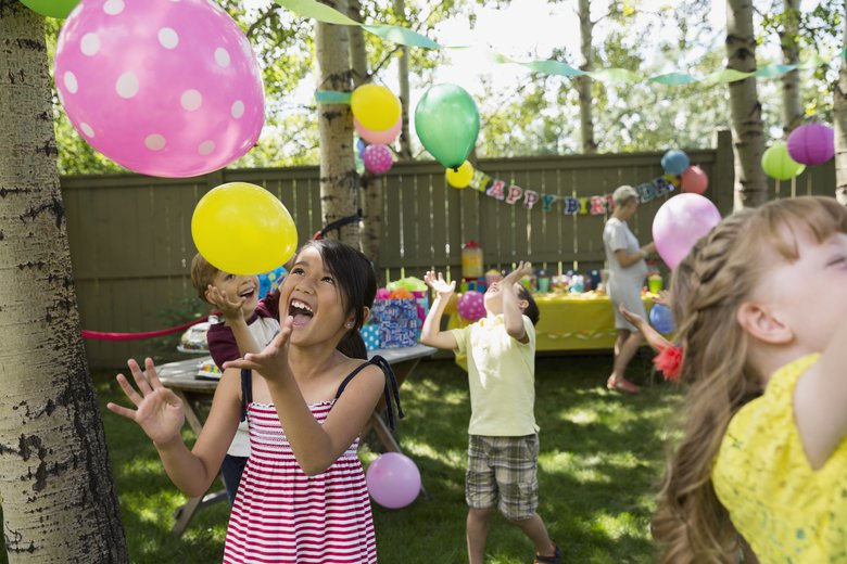 Things that should be part of a kid's party